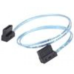 (LS) Silverstone CP11B SATA CABLE 300MM  Lateral 90Æ angled
