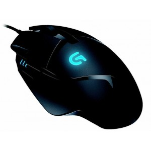 Logitech G402 Hyperion Fury FPS USB Gaming Mouse 8 Programmable Buttons 4000 DPI High Speed Super Fast 1ms Response Time - 910-004070